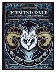 D&D 5th edition: Icewind Dale - Rime of the Frostmaiden ALTERNATE COVER EDITION