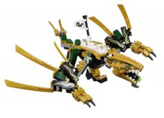 LEGO Ninjago: Golden Dragon, box, instructions 70666 NO MINIFIGS authentic