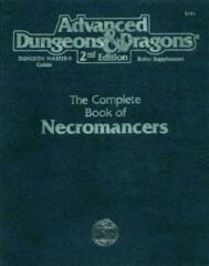 AD&D Dungeons & Dragons RPG: The Complete Book of Necromancers 2nd edition TSR