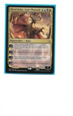 Nicol Bolas, God-Pharaoh - promo stamped