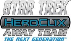 Star Trek Heroclix: PRESALE Away Team - The Next Generation To Boldy Go booster brick Wizkids