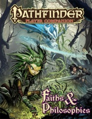 Pathfinder Player Companion RPG Roleplaying Game: Faiths and Philosophies