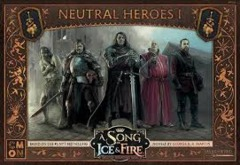 A Song of Ice & Fire Miniatures Game: PRESALE Neutral Heroes #1 box