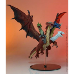 D&D miniatures Tyranny of Dragons Tiamat