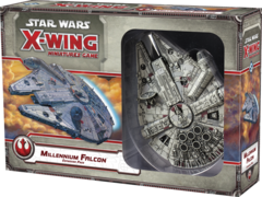 Star Wars X-Wing miniatures game Millennium Falcon pack fantasy flight