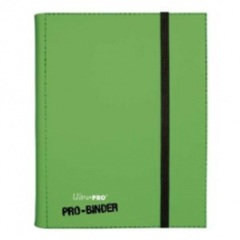 Ultra Pro: premium Pro-Binder 9-pocket pages LIME GREEN 82847