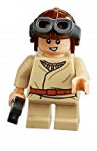 Lego Star Wars Minifigures Young Anakin Skywalker