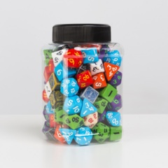 Q-Workshop Dice: PRESALE Jar of Classic Dice