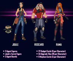 Agents of Mayhem: PRESALE Bombshells expansion board game