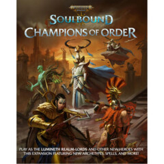 Age of Sigmar - Soulbound RPG: PRESALE Champions of Order