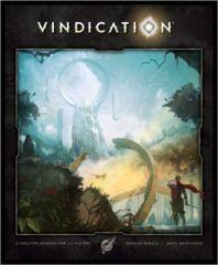 Vindication: board game kickstarter blue tier pledge