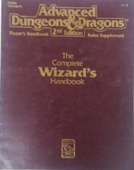 AD&D Dungeons & Dragons RPG: The Complete Wizard's Handbook TSR