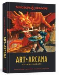 Dungeons and Dragons: Art and Arcana - A Visual History regular edition