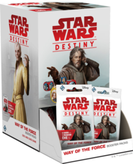 Star Wars Destiny Dice Building Game: Way of the Force Booster Pack Display (36-count)