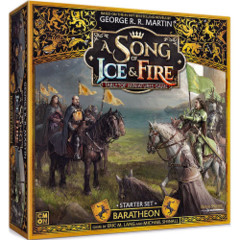A Song of Ice & Fire Miniatures Game: Baratheon starter set