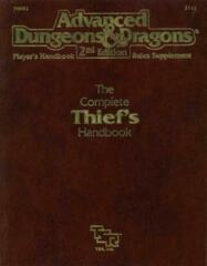 AD&D Dungeons & Dragons RPG: The Complete Thief's Handbook TSR