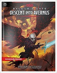 D&D 5th edition: Baldur's Gate - Descent into Avernus REGULAR EDITION COVER