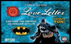 Love Letter: Batman, Capture the Inmates base/core card game boxed edition AEG