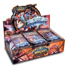 World of Warcraft: Blood of Gladiators booster box
