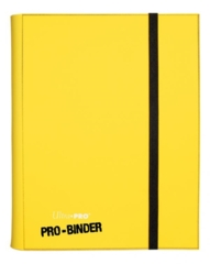 Ultra Pro: premium Pro-Binder 9-pocket pages YELLOW 84565