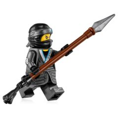 LEGO Ninjago: Nya minifigure + spear 70611 (water strider) authentic