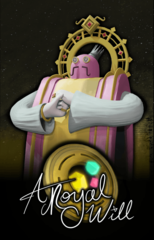 A Royal Will: PRESALE board game mega mint games