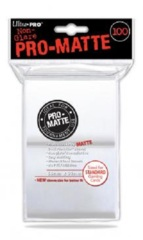 Ultra Pro PRO-Matte Standard Card Sleeves - White (100-ct)