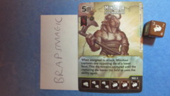 Dungeons & Dragons Dice Masters: Minotaur, Paragon (rare)