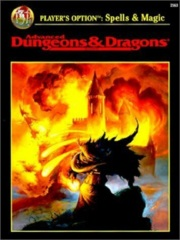 AD&D Dungeons & Dragons RPG: Player's Option - Spells & Magic 2nd edition TSR