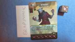 Dungeons & Dragons Dice Masters: Wererat, Lesser (common)