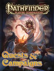 Pathfinder Player Companion RPG Roleplaying Game: Quests & Campaigns