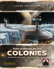 Terraforming Mars: The Colonies expansion board game stronghold