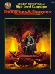 AD&D Dungeons & Dragons RPG: Dungeon Master Option - High-Level Campaigns 2nd edition TSR