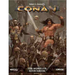 Conan Roleplaying Game RPG: PRESALE The Monolith sourcebook modiphius