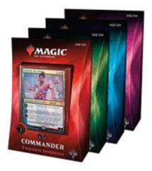 Commander 2019 - Complete Set of all 4 decks