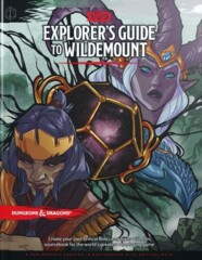 D&D 5th edition Dungeons and Dragons: Explorer's Guide to Wildemount