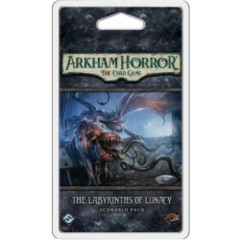 Arkham Horror LCG: living card game The Labyrinths of Lunacy scenario pack FFG