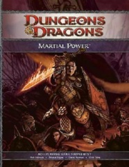 Dungeons & Dragons D&D 4th edition RPG: Martial Power
