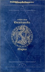 AD&D RPG - 2nd edition: Encyclopedia Magica volume four 4 + index