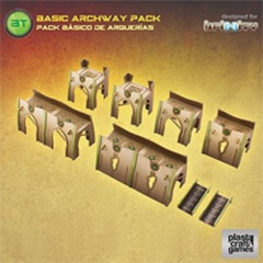 Plastic Craft Games: Basic Archway Pack (28mm gaming terrain) INF018