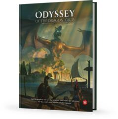 D&D 5e Dungeons and Dragons: Odyssey of the Dragonlords campaign book