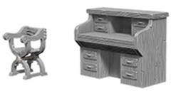 Deep Cuts - Desk & Chair