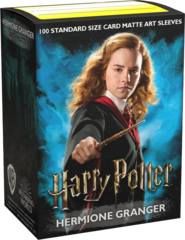 DRAGON SHIELD SLEEVES - HARRY POTTER- HERMOINE GRANGER (BOX OF 100)