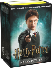 DRAGON SHIELD SLEEVES - HARRY POTTER - HARRY POTTER (BOX OF 100)