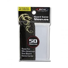 BCW: Board Game Sleeves - 41mm X 63mm (50 Count)
