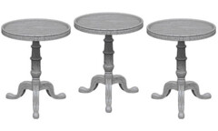 Deep Cuts - Small Round Tables