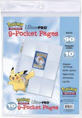 Ultra Pro - Pokemon - 9-Pocket Pages (10 pages)