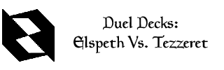 Duel Decks: Elspeth Vs Tezzeret