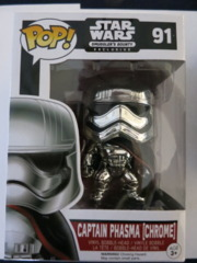 POP! Vinyl - Captain Phasma (Chrome) #91 Smugglers Bounty Exclusive
