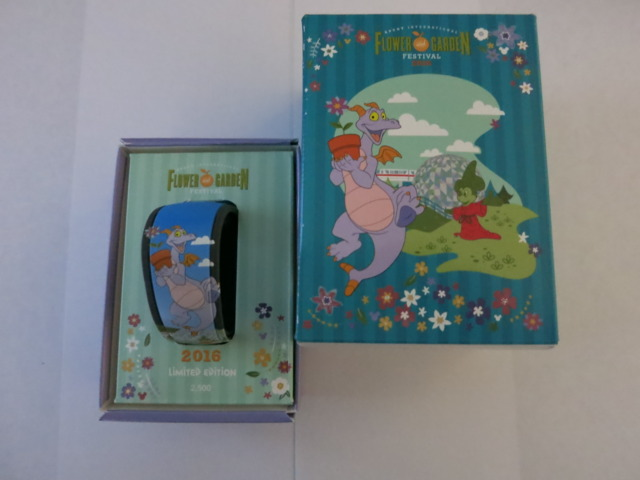 Flower and Garden 2016 Limited Edition - Figment MagicBand